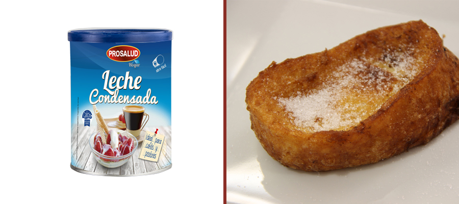 lata 740 leche condensada prosalud receta de torrija casera de leche condensada o miel