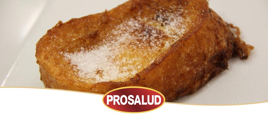 Receta de torrijas caseras de leche condensada prosalud torrijas con miel