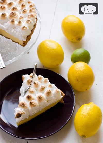 mejores blogs de cocina tarta de limon y leche condensada