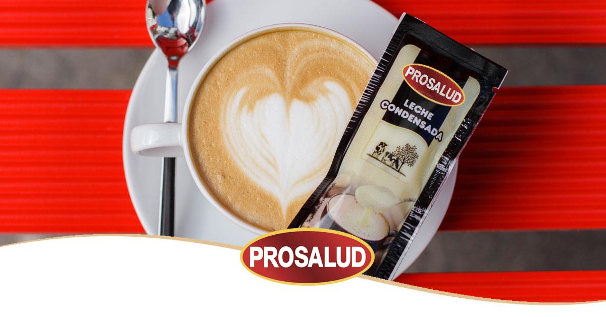Envase monodosis leche condensada prosalud