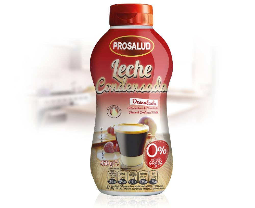sirvefacil leche condensada desnatada