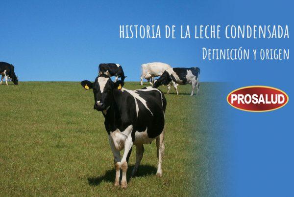 Historia de la leche condensada definicion origen que es