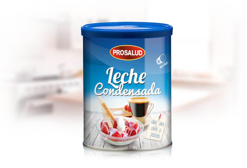 lata 740 g de leche condensada