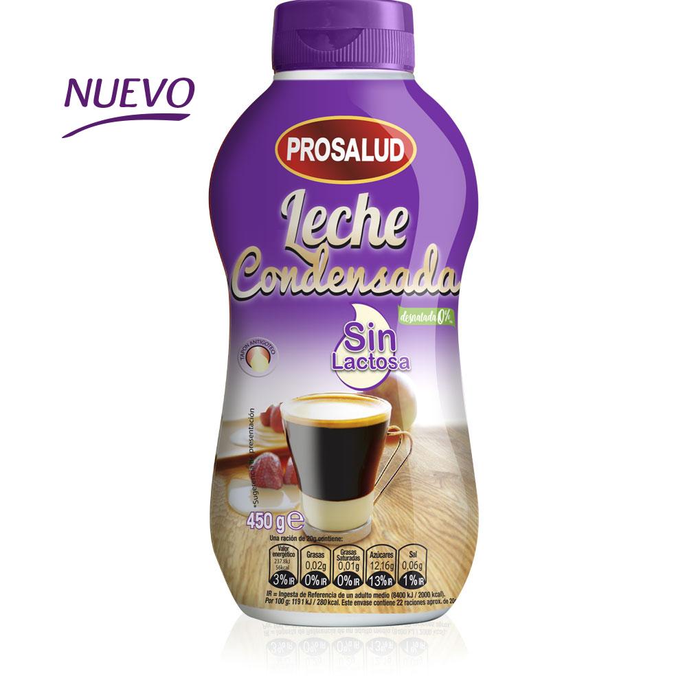 sirvefacil 450 g leche condensada desnatada sin lactosa