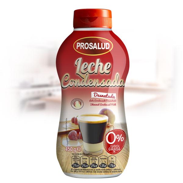 leche condensada desnatada sirvefacil