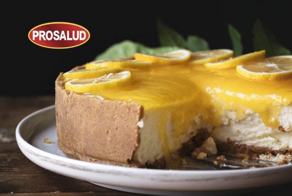 tarta fria de limon con leche condensada