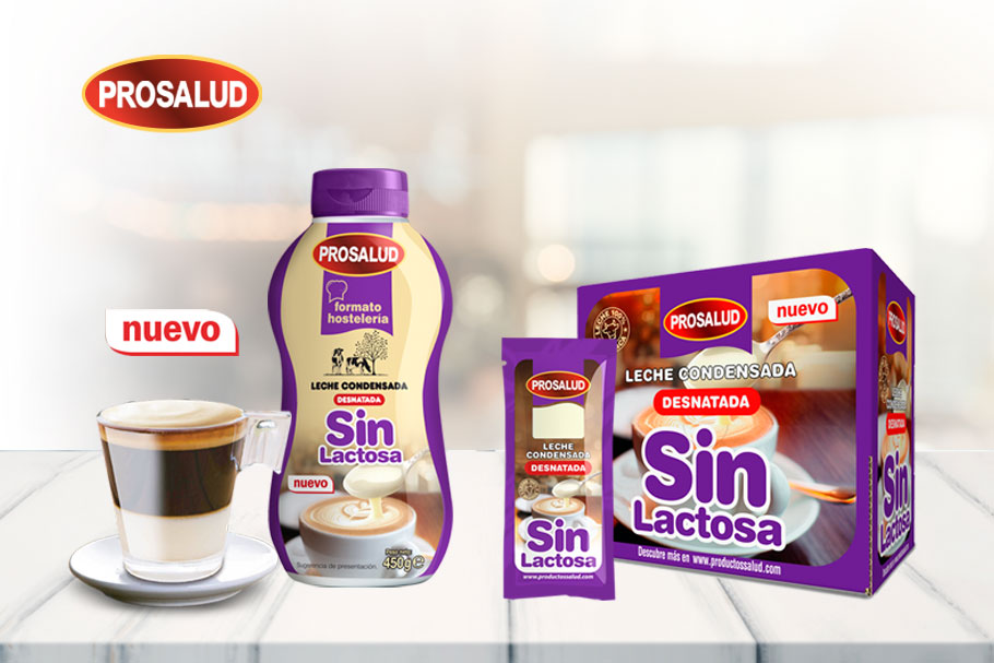 formatos leche condensada sin lactosa hosteleria
