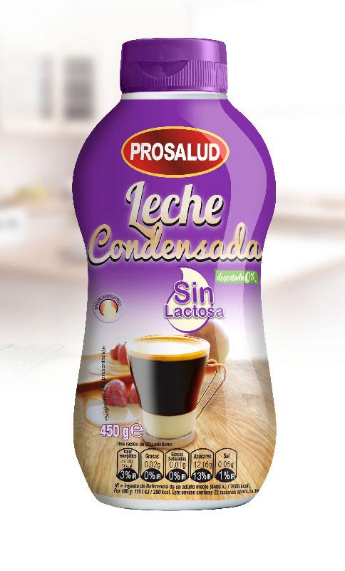 Flan de leche condensada sin lactosa
