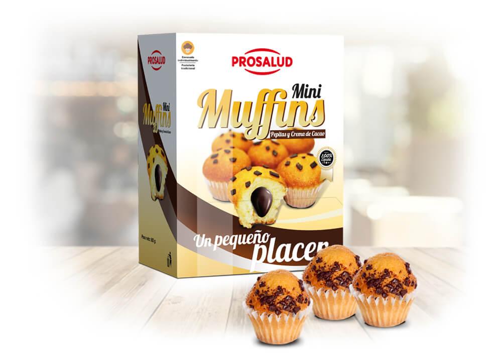 Mini-Muffins con chocolate