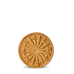 Galletita caramelizada cortesía
